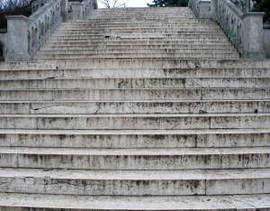 Belgrade stairs